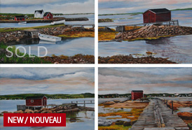 Beauty of Newfoundland - Fogo Island # 1 2 3 4t